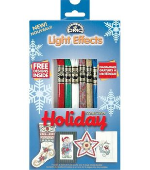 DMC Light Effects Metallic Floss Packs-6PK/Holiday