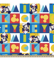 Disney Mickey Spectrum Fleece Fabric, , hi-res