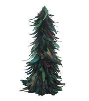 Blooming Holiday Feather Cone Tree-Blue, , hi-res