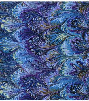 Premium Cotton Fabric-Oil Slick Rainbow
