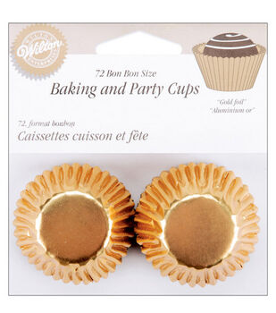 Wilton® 72 ct. Gold Bon Bon Baking Cups