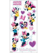 EK Success Disney Classic Sticker-Minnie Mouse, , hi-res