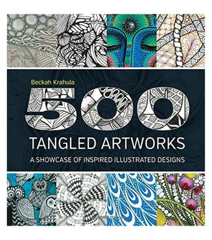 Adult Coloring Book-Quarry Books 500 Tangled Artworks