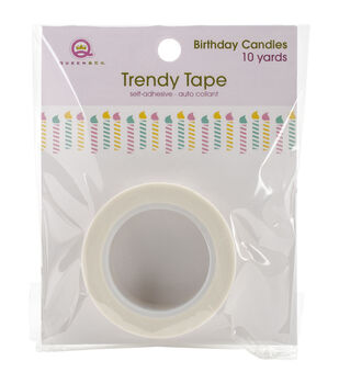 Queen & Co Birthday Candles Trendy Tape