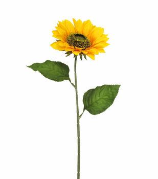 Blooming Autumn 27'' Sunflower Spray-Yellow