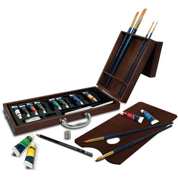 Royal Brush Premier Easel Set Acrylic Painting