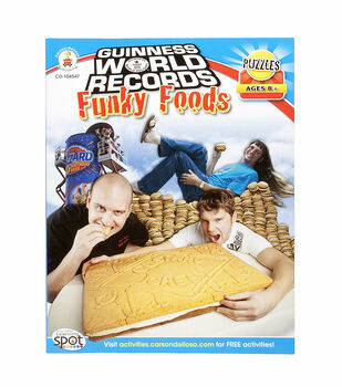 Guiness World Records Funky Food  8+