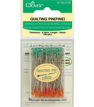 Clover® Quilting Pins Fine-100/pkg