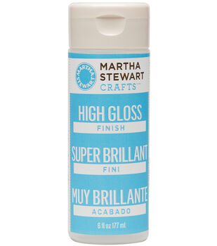 Martha Stewart 6oz High Gloss Finish