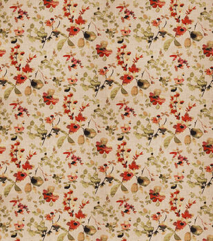 Eaton Square Upholstery Fabric-Goldstone/Spice