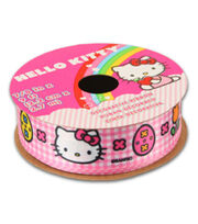 Hello Kitty Easter Ribbon-Pink White Plaid, , hi-res