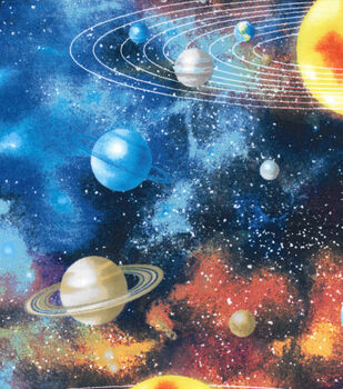 Flannel fabric shop for flannel fabric by the yard jo ann for Solar system fleece