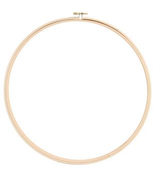 """Wood Hoop 12""""-"""