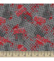 Walking Dead Fence Flannel Fabric, , hi-res