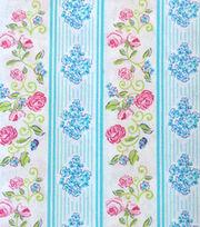 Keepsake Calico™  Cotton Fabric-Floral Bouquet Stripe, , hi-res