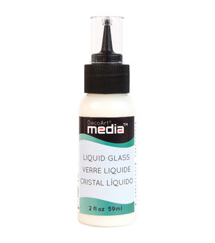DecoArt Media Liquid Glass 2oz-Clear
