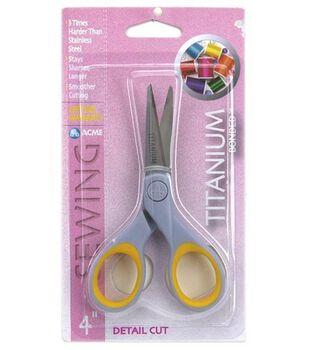 """Acme 4"""" Titanium Detail Cut Scissors"""