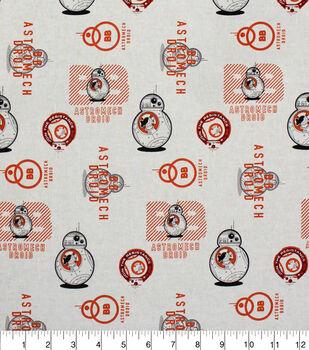 Star Wars ViII BB8 Cotton