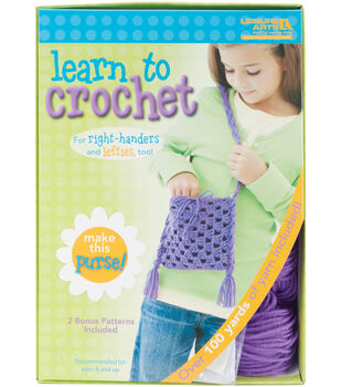 Learn To Crochet-Purse