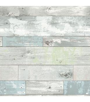 WallPops® NuWallpaper™ Beachwood Peel And Stick Wallpaper