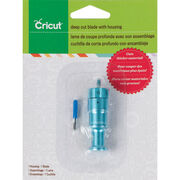 Cricut® Deep Cut Blade with Housing, , hi-res