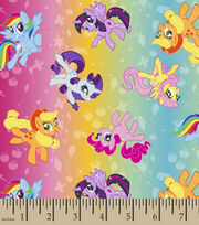 My Little Pony Ombre Toss Polyspan Fabrix, , hi-res