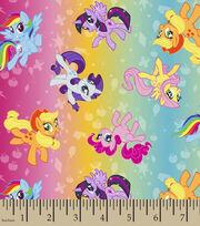 My Little Pony Ombre Toss Polyspan Fabrix, , hi-res
