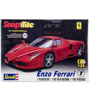 SnapTite Plastic Model Kit-Enzo Ferrari 1:24