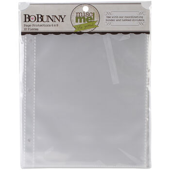 """Bo Bunny Misc Me Page Protectors 6""""x8"""""""