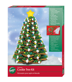 Cookie Tree Kit Makes 1-Christmas Tree
