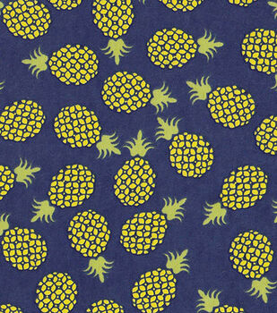 Snuggle Flannel Fabric-Pineapple Toss