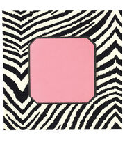 Anna Griffin Zebra Square with Pink Insert Custom Invitation, , hi-res