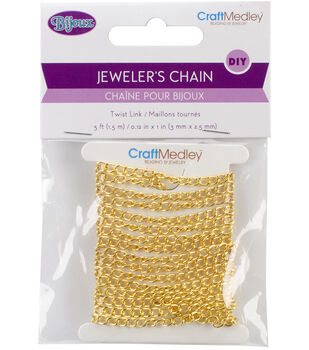 Multicraft Imports Linked Cable Chain