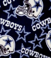 Dallas Cowboys NFL Fleece Fabric by Fabric Traditions, , hi-res