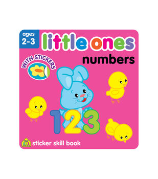 Little Ones Numbers Sticker Workbook