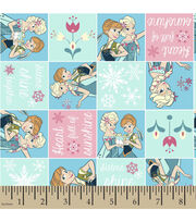 Disney® Frozen Fever Patch Flannel Fabric, , hi-res