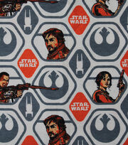 Star Wars Rogue Flannel Fabric 42''-One Rebel Polygon, , hi-res