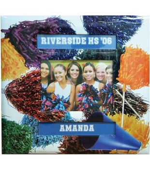 12 x12 Sport & Hobby Albums-Cheerleading