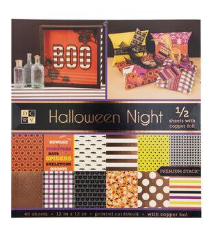 12x12 Halloween Stack