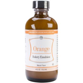 Lorann Oils Bakery Emulsions Natural & Artificial Flavor Orange