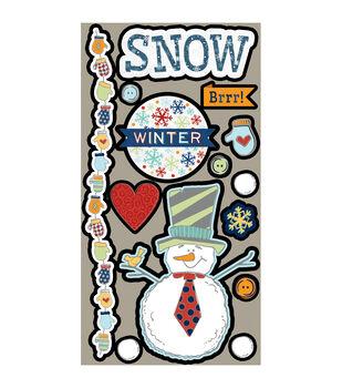 Snow Days Laser Die-Cuts-Snowmen