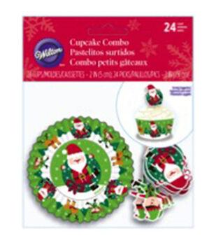 Wilton® Cupcake Combo Pack -Sharing 24/Pkg