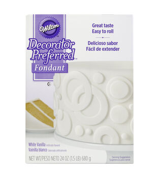 Wilton® Decorator Preferred Fondant 24oz-White
