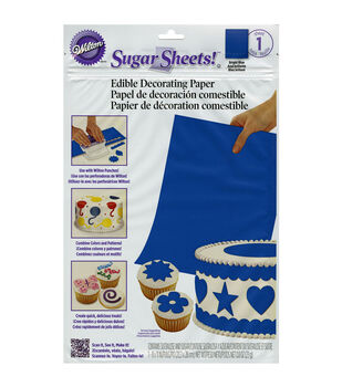 Wilton® Sugar Sheets Edible Decorating Paper-1PK