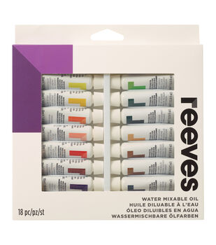 Water Mixable Oil Colour 18pk