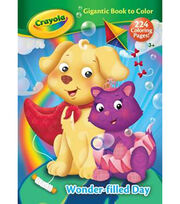 Crayola Who Goes There Giant Coloring Book, , hi-res
