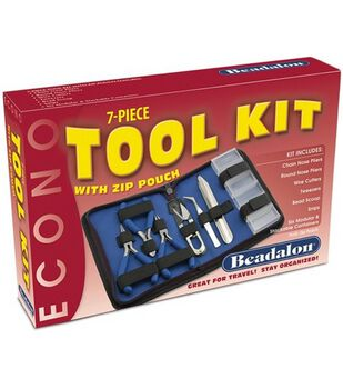 Econo 7-Piece Tool Kit With Zip Pouch