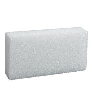 8X4X2In Foam Block White