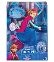 Mattel Disney Frozen Ice Skating Anna, , hi-res