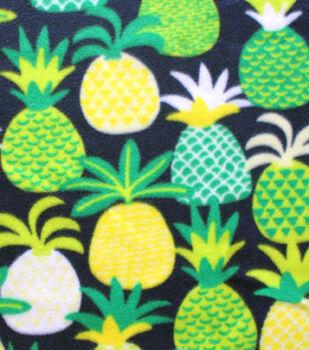 Blizzard Fleece Fabric-Katies Pineapple